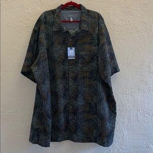 Van Heusen Men's Button Down Shirt Size 4XLT